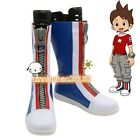 Hot!! NEW Youkai Watch Amano Keita lin Cosplay Shoes Boots