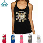 Route 66 LADY TANK TOP Route Us 66 Women Tank Top Get Your Kick On Route 66