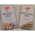New Artists Pencils Art Sketching Metallic / WaterColour In Tin Drawing Creative