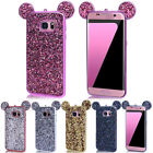 For iPhone7 8 XSamsung Bling Rubber Case Soft TPU Hybrid Silicone Back Cover