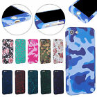 Shockproof Full Body Protection Hard PC Back Case Cover For iPhone 5S 6S 7 Plus