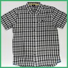 DC SHOES INC Mens Shirt Size:S GREY Short Sleeve Top-Authentic Skate Brand