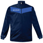 K-Way, Givova Rain Jacket Scudo RJ005 Colore Blu Navy/Royal 0402