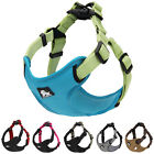 Dog Harness Adjustable Reflective Mesh Strong Small Medium Large Truelove
