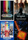 Star Trek Movie Poster Collection:Laminated:A4:!Buy 2 Get 3 FREE!!!!!!!!!