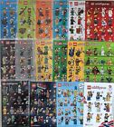 Genuine Lego Series Minifigures - Complete with Accessories - Choose Your Figure