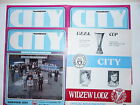 Manchester City Home Programmes 1977/78