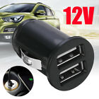 Car Dual 2 Port USB Mini Bullet Charger Adapter 12V Power for iPhone 5 6 6s HTC
