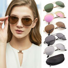 brown sunglasses for men - Aviator Polarized Sunglasses For Women Men Lady Metal Frame Sports Eyewear UV400
