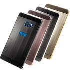 Genuine Fuse™ Metal Bumper & Perspex Hybrid Rear Case Back Cover for HTC U Ultra