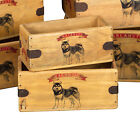 Malamute Box Great Alaskan Malamute Gift Vintage Storage Crate Single