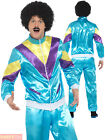 Mens Ladies Shell Suit Fancy Dress Costume 19 80s Tracksuit Womens Couples