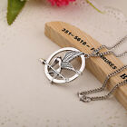 The Hunger Games Catching Fire Mockingjay Pendant Necklace Opens Secret Quote