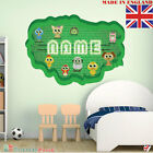 NEON 08 Wall PERSONALISED NAME Children Room Wall Sticker Decal Fabric  Vinyl UK