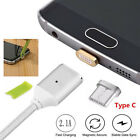 Magnetic USB Type C Male Sync Data Charger Fast Charging Cable For Samsung S8 +