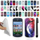 For Samsung Galaxy Discover S730G S738C TPU SILICONE Protective Case Cover + Pen