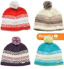 Regatta Kaja Beanie Womens Knit Effect Fleece Lined Warm Winter Hat