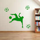 Football Figures Players Player Wall Stickers Decals Vinyl Transfer Decal A69