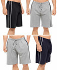 Mens Sports Shorts Casual Lounge Wear Striped Tracksuit Bottoms 2 Pack Boys Size