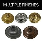 Solid Brass Decorative Round Ceiling Canopy Medallion Accent for Chandeliers