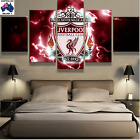 Liverpool Football Club Modern Canvas Wall Art Picture Landscape (5piece)