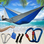 Portable Double Person Camping Hammocks Chair Hanging Bed Chair Sleeping Swing cheap
