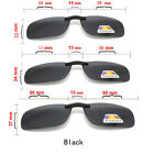 FASHION POLARISED CLIP ON DRIVING SUNGLASSES CHOOSE COLOUR GREY OR AMBER NEW UK