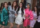 HIGH QUALITY!  Women's SILK Kimono Robes Bathrobe BRIDE, BRIDESMAID ROBE