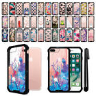 "For Apple iPhone 8 Plus/ iPhone 7 Plus 5.5"" Hybrid Clear Bumper Case Cover + Pen"