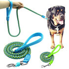 Lead Rope Large Medium Small Strong Long Reflective Dog Pet Puppy Training