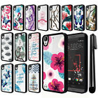 For HTC Desire 530 630 Hybrid Clear TPU bumper Case Phone Cover + Pen