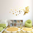 Acrylic 3D Fairy Princess Mirror Wall Stickers Wall Decal Art Home Decoration