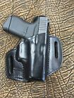 Black Leather Holster for Colt OWB Made in USA