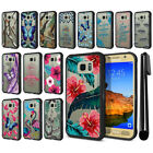 For Samsung Galaxy S7 Active G891 Hybrid Clear TPU bumper Case Phone Cover + Pen