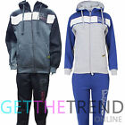 Kids Boys Tracksuit DLX PROJECT Sweat Top & Jog  Bottoms Set New Hoodies Age 13