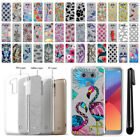 For LG G6 H873 US997 LS993 VS998 AS993 Sparkling Silver TPU Case Cover + Pen