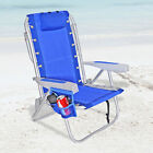 Rio 5 pos LayFlat Ultimate Backpack Beach Chair w/ cooler