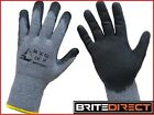 120 Pairs Size M/L Best RXG Work Gloves Heavy Duty Latex coat Safety PPE Builder