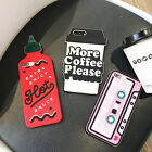 3D Poison Skull Skeleton Soft Silicone Phone Case Cover For iPhone 7/7Plus