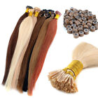 100g/pack 100s 18''20''22'' 100% Remy I-Tip Human Hair Extensions + Micro Beads