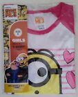 DESPICABLE ME 3 Minions Licensed Girl short sleeve tee t shirt top NEW sizes 4-8