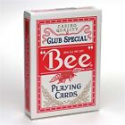 BEE STANDARD INDEX BLUE RED DECK POKER PLAYING CARDS MAGIC TRICKS USPCC NEW