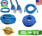Kyпить CAT6 Patch Network Cable Rj45 Ethernet 6ft 10ft 25ft 50ft 100ft 200ft lot Blue на еВаy.соm