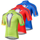 Men Also Is Flower Cycling Jersey Bicycle Short Sleeve Clothing Bike Shirt S-5XL