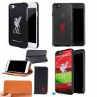 Liverpool FC Football Wallet 3D Gel Aluminium Case for iPhone 4 5 5S SE 6 6S 7