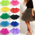 Women Adult Dancewear Tutu Mini Ballet Pettiskirt New Chic Princess Party Skirt