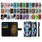 "For Alcatel Fierce 4 Pop 4+ 5.5"" Ultra Slim Canvas Wallet Pouch Case Cover + Pen"