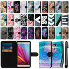 For Huawei Honor 5X H715BL Ultra Slim Canvas Wallet Case Cover Credit Card + Pen