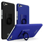 Cowboy Slim Matte Hard Case Cover +Ring Holder For Meizu Xiaomi Huawei Sony