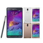 """Samsung Galaxy Note 4 SM-N910F 32GB 16MP 5.7"""" Unlocked 4G LTE Android Smartphone"""
